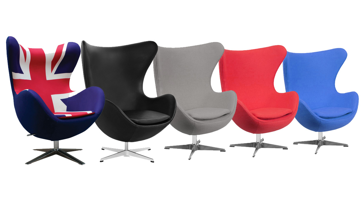 Arne Jacobsen Style Egg Chair Hire In London Egg Chair Hire London