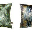 Metallic cushions