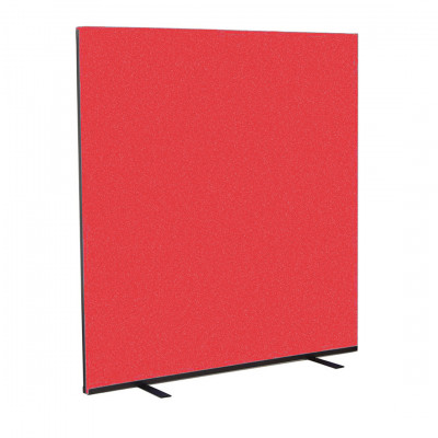 Red Partition Screen Hire