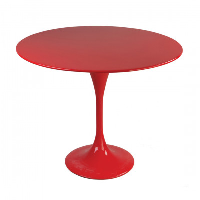 Red Tulip Style Dining Table
