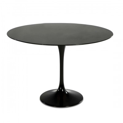 Black Tulip Style Dining Table