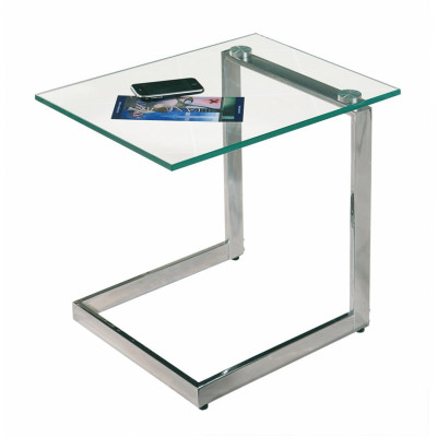Glass Side Table Rental