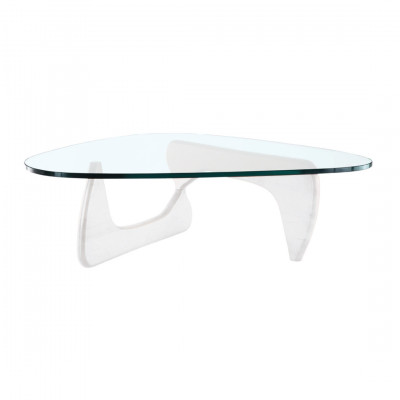 White Nogu Coffee Table Hire