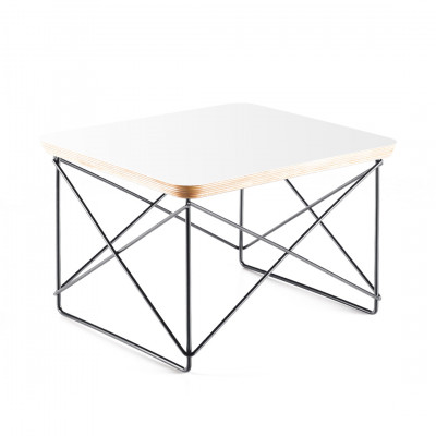 White Leather Style Coffee Table