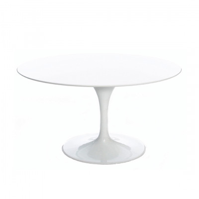 White Tulip Style Coffee Table