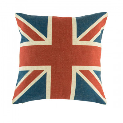 Union Jack Square Cushion