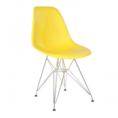 Yellow Eames Eiffel Chair