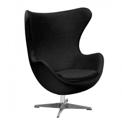 Egg Inspired Chair Black