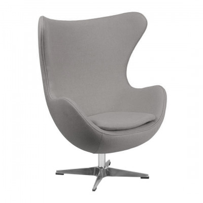 Grey Egg Chair