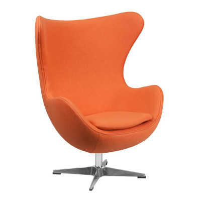 Egg Inspired Chair Orange