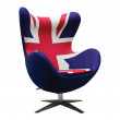 Union Jack Egg Inspired Chair