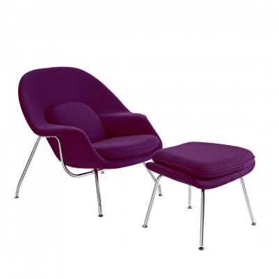 Womb Inspired Chair Purple