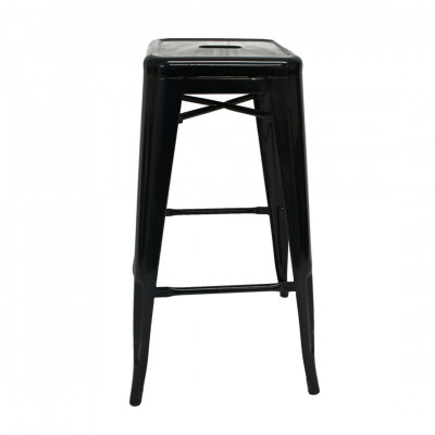 Black Ribble Bar Stool