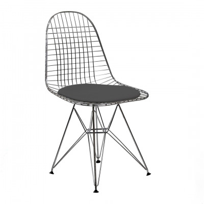 Eames Inspired Wire Chair