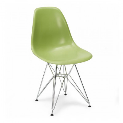 Green Eames Inspired Eiffel Chair