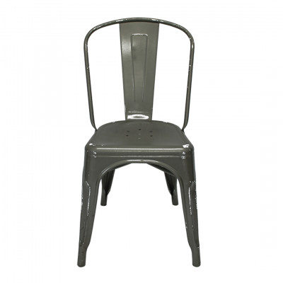 Toledo Chair Gunmetal