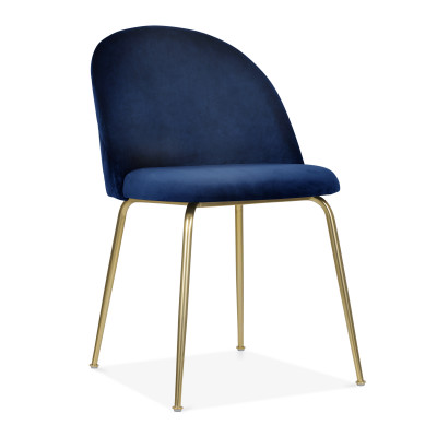 Milan Dining Chair - Blue