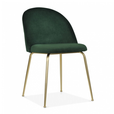 Milan Dining Chair in Green