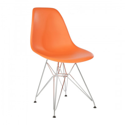 Orange Eames Inspired Eiffel Chair