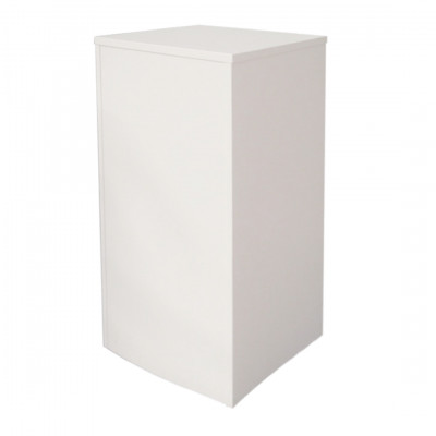 White Exhibition Plinth Rental