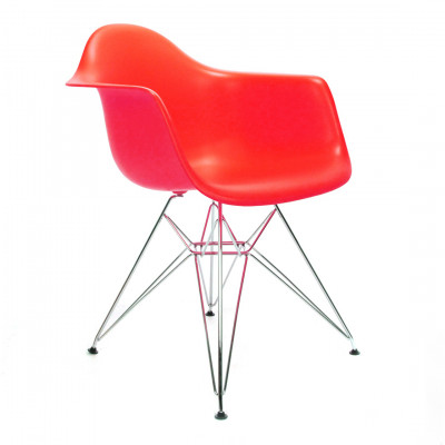 Red Eames DAR Chair