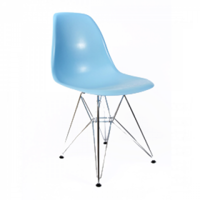 Baby Blue Eames Eiffel Chair