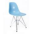 Baby Blue Eames Inspired Eiffel Chair