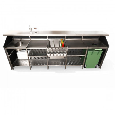 5 Bay Porta Bar Hire
