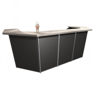 5 Piece Porta Bar Black
