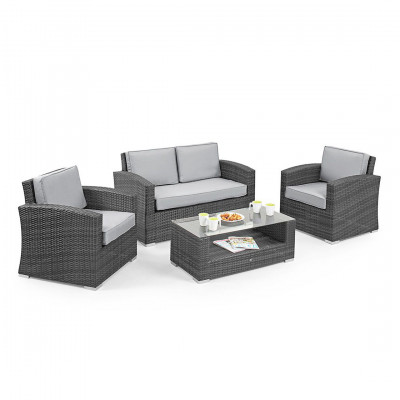 Rio Rattan Garden Sofa Set Rental