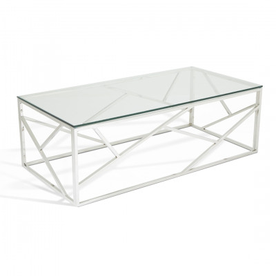 Silver Gold Malibu Coffee Table