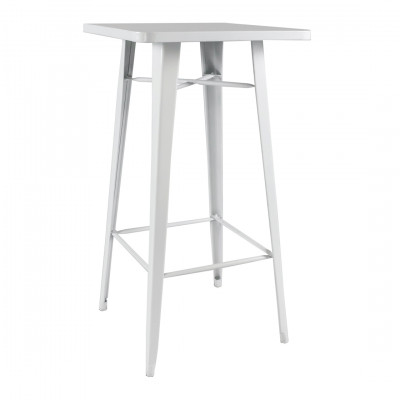 White Toldeo Poseur Table