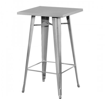 Silver Toledo Poseur Table