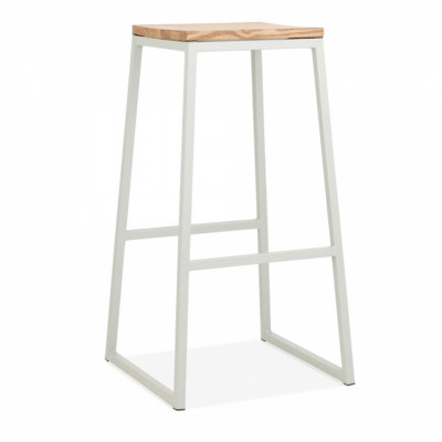 Ace Bar Stool - White