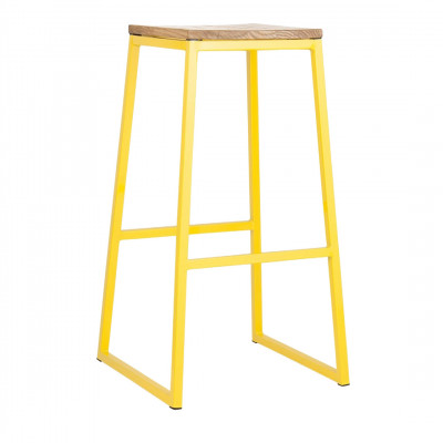Ace Bar Stool - Yellow