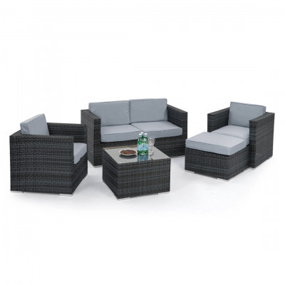 Rome Rattan Garden Sofa Set Rental