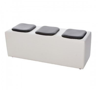 Modular Exhibition Seating Black Pads
