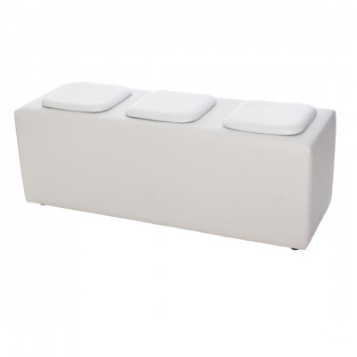 Modular Exhibition Seating White Pads