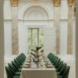 Green Velvet Dining Chair Hire