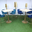 Gold Poseur Table