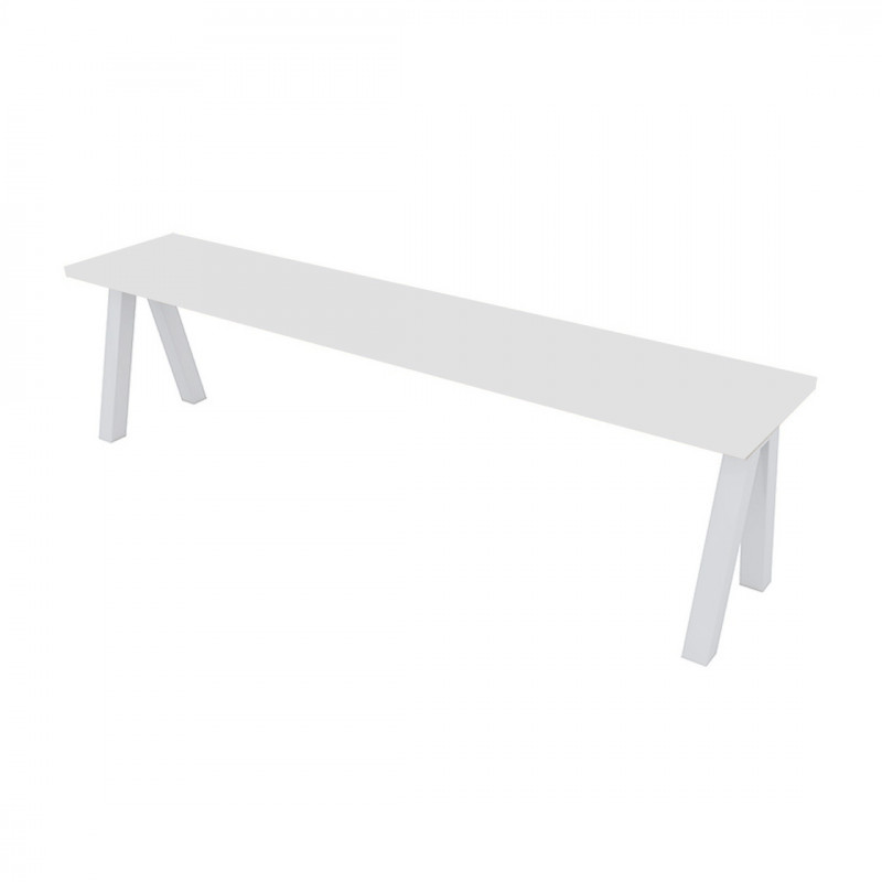 Swell Alba White Bench Seat London Bench Hire For Events Pdpeps Interior Chair Design Pdpepsorg