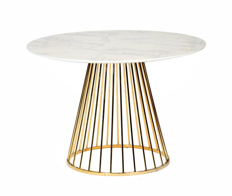 Quartz Dining Table With White Marble Top Dining Table Hire