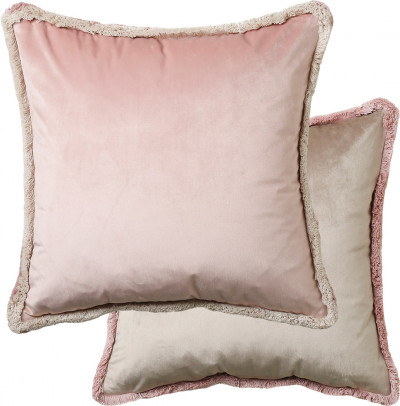Blush Velvet Cushion