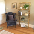 Gold bookcase hire