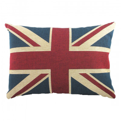 Rectangle Union Jack Cushion