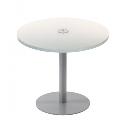 White USB Charging Table