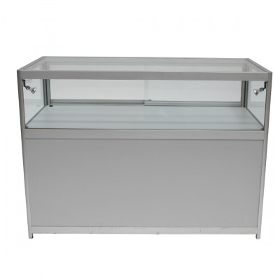 Low Glass Jewel Exhibition Showcase Cabinet