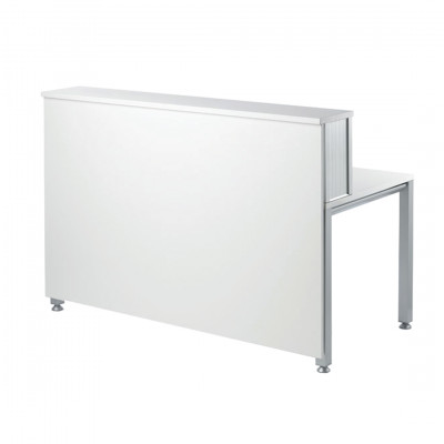 White Reception Desk Hire